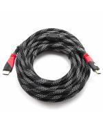 Шнур E-Cable HDMI - HDMI 1.4V High Speed 10м, Black
