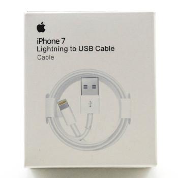 DATA-кабель USB - Lightning (A1480) для Apple IPhone 5, 6, 7, 8, X 1м, White