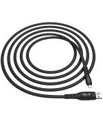 DATA-кабель Hoco S6 Sentinel Micro 1.2м Black
