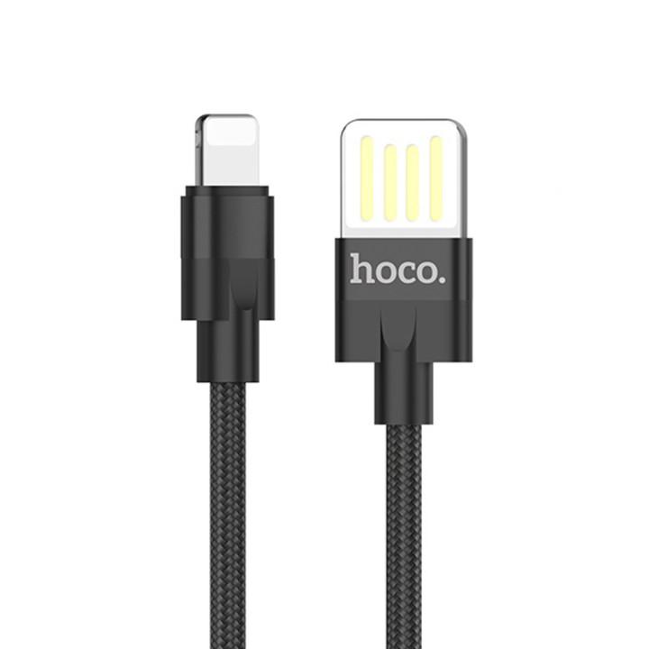 DATA-кабель Hoco U55 Outstanding lightning 1.2M, Black