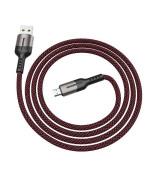 Data-кабель Hoco U68 Gusto Micro USB 4.0A, 1.2м, Black