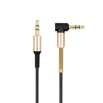 Aux кабель Hoco UPA02 2м + микрофон, Black