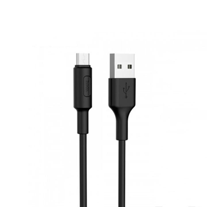 DATA-кабель Hoco X25 micro USB 1-м. Black