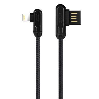 DATA-кабель XO NB28 Lightning 1м Black