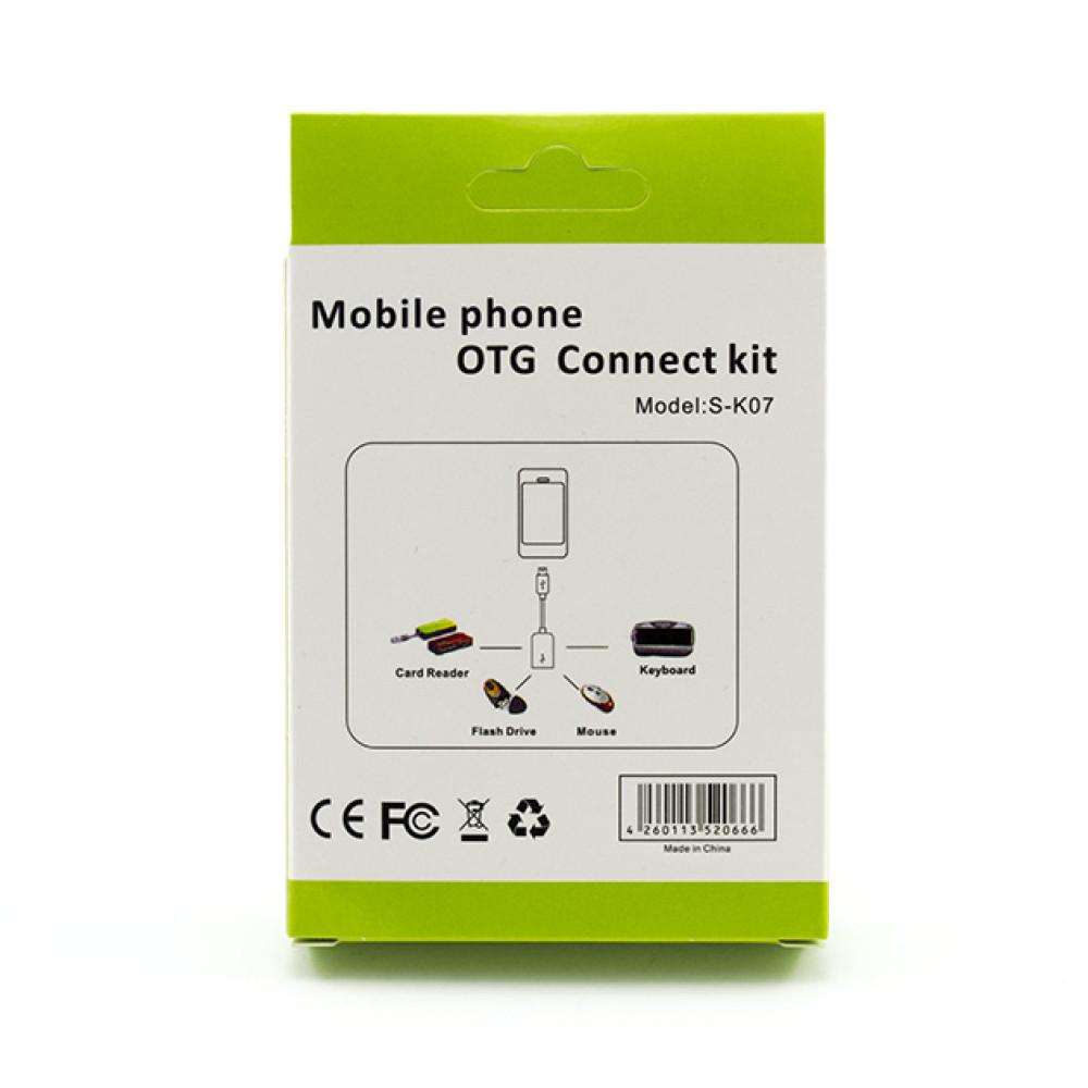 Otg S K07 Micro Usb 20 Black Kabel Connect Kit Model