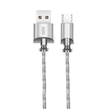 DATA-кабель XO NB39 Micro 1м Steel