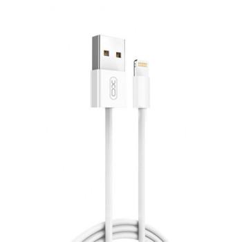 DATA-кабель XO NB47 Lightning 1м White
