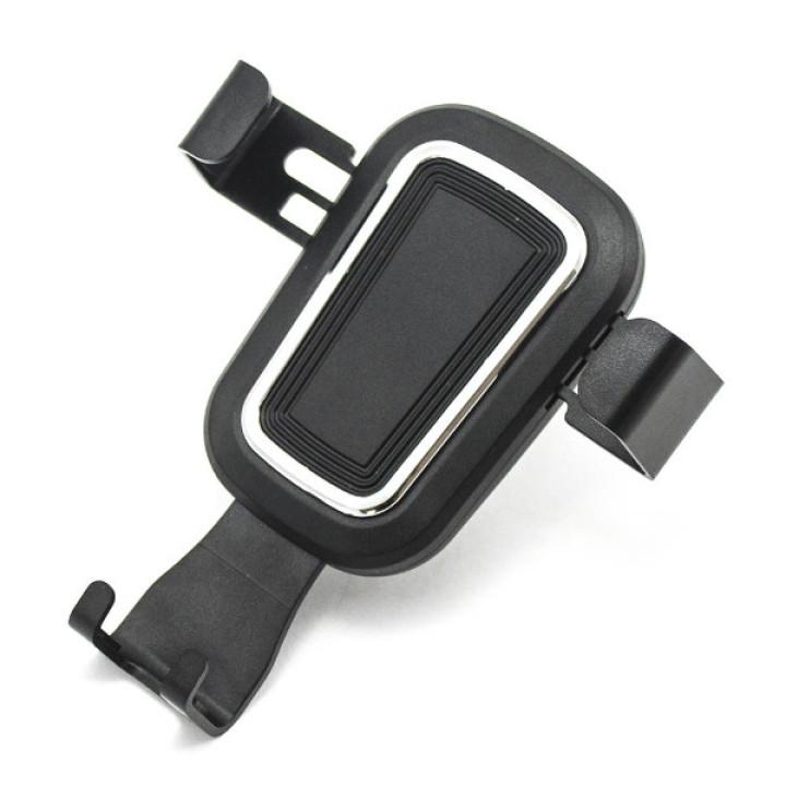 Автодержатель Gravity Holder 1547 на дефлектор Black