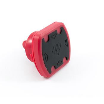Автомобильный магнитный держатель ZBS Mount Vent в дефлектор обдува Red