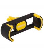 Автомобільний пружинний тримач Remax RM-C17 в дефлектор Black Yellow