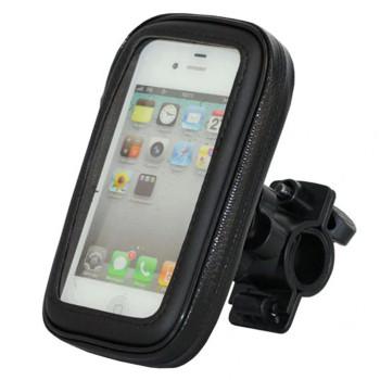 """Тримач велосипедний M+ для смартфонів з діагоналю до 4.7"""" Black"""