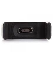 Автомобільний пружинний тримач XO C8 в дефлектор Black