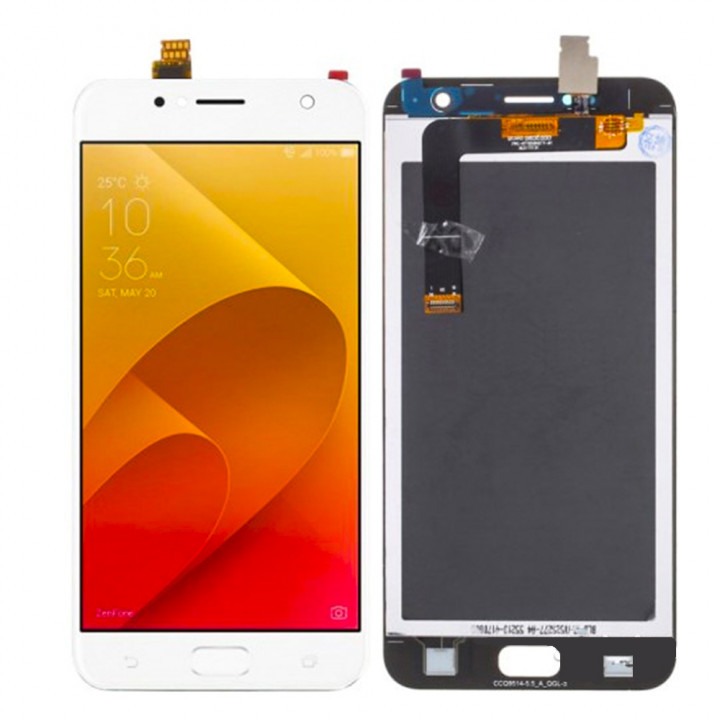 Дисплейний модуль (дисплей + touch screen) для Asus Zenfone 4 Live ZB553KL White