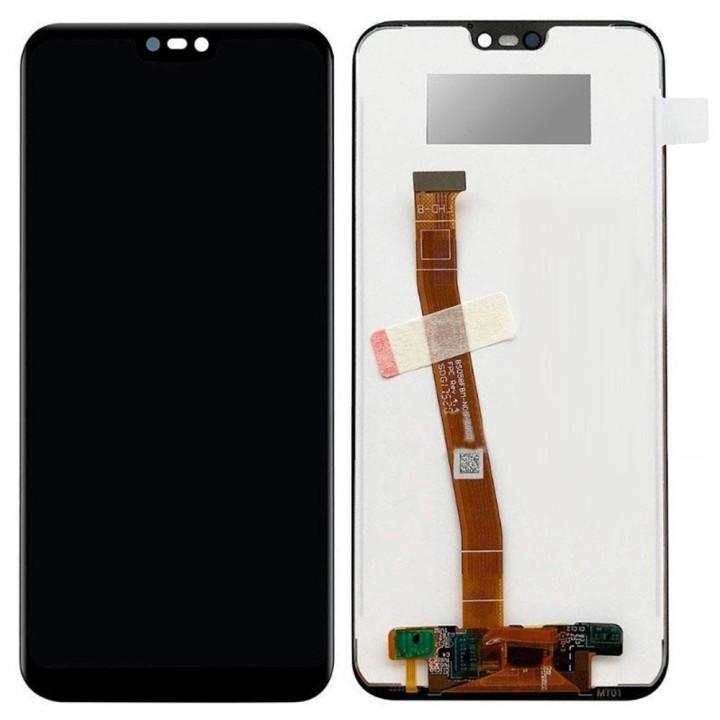 Дисплейний модуль (LCD дисплей + touch screen) для Huawei P20 Lite Black