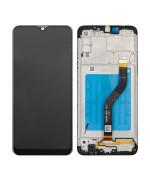 Дисплейний модуль (LCD дисплей + touch screen + frame) для Samsung Galaxy A20S (A207) 100% Service OR Black