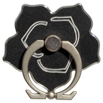 Кольцо-подставка, держатель для смартфона ZBS Metal Flower