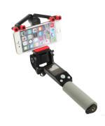 Bluetooth монопод RoHS 360 Smart rotation selfie stick, Black