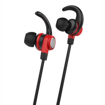 Вакуумні Bluetooth навушники-гарнітура Celebrat A7 Red