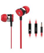 Вакуумні навушники-гарнітура Celebrat D1 з мікрофоном