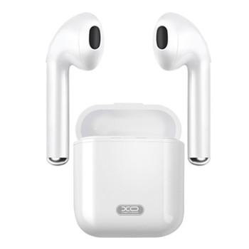 Bluetooth навушники-гарнітура XO-F10 White
