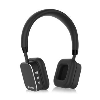 Накладные Bluetooth наушники-гарнитура AWEI A900 BL