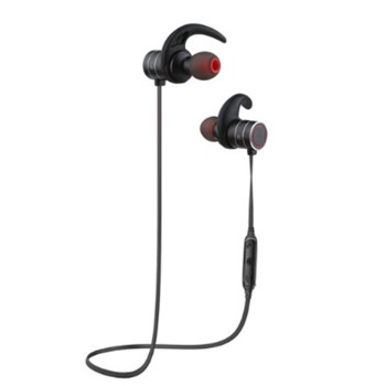 Вакуумные Bluetooth наушники-гарнитура Awei AK9 Sport Black