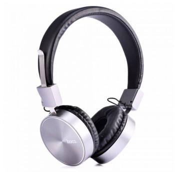 Полноразмерные наушники-накладки hoco W2 с микрофоном