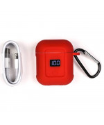 Bluetooth наушники гарнитура Hoco S11 melody с зарядным чехлом, White
