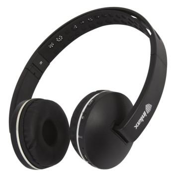 Повнорозмірні Bluetooth навушники-гарнітура Inkax HP-13 Black