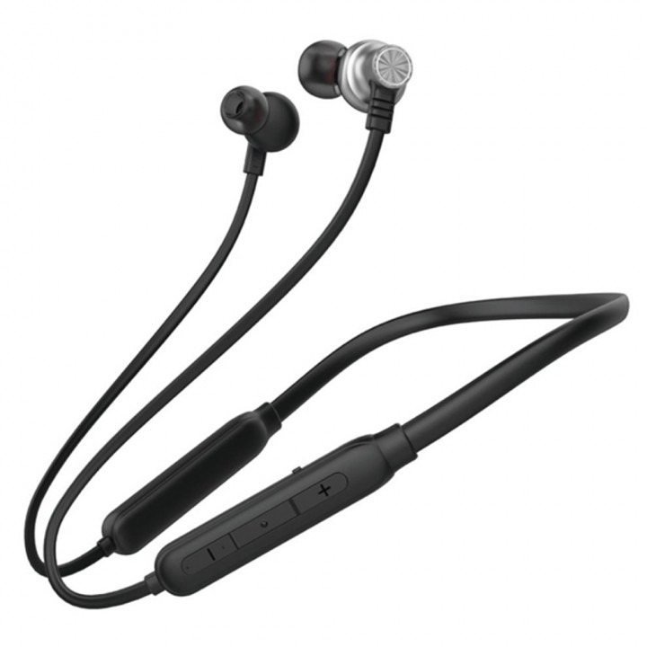 Bluetooth навушники-гарнітура Inkax HP-14 Black