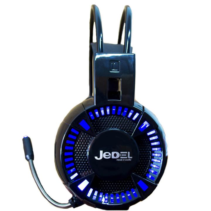 Повнорозмірні ігрові навушники-гарнітура Jedel GH160, Black