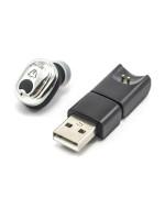 Bluetooth моно-гарнитура Lenyes A3 с магнитным USB-зарядным устройством