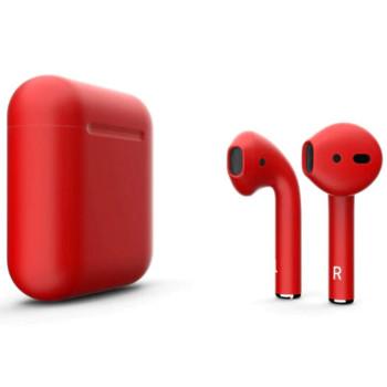 Bluetooth наушники-гарнитура TWS i12 Red