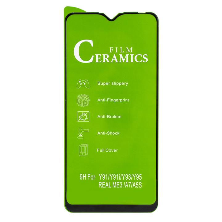 Защитная пленка Ceramics Full coverage film для Realme 3, Oppo A7, Oppo A5s Black