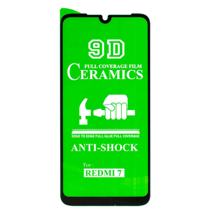 Захисна плівка Ceramics Full coverage film для Xiaomi Redmi 7 Black
