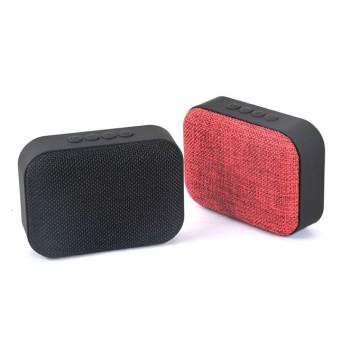 Портативная беспроводная Bluetooth колонка Wiss MINI T3 с тканевым покрытием