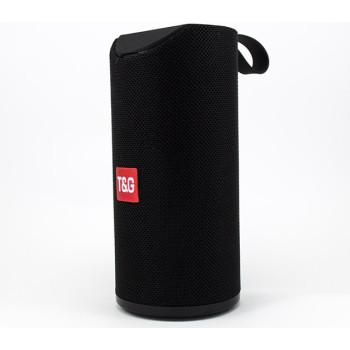 Портативная беспроводная Bluetooth колонка BIG T&G (TG-113) с тканевым покрытием