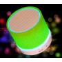 Портативная беспроводная Bluetooth колонка BauTech MINI LED