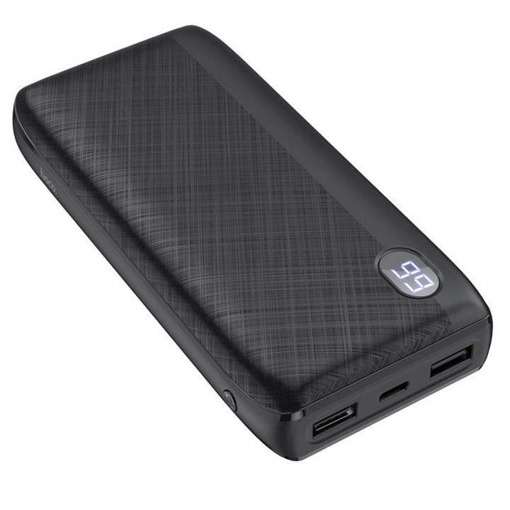 Портативная батарея Power bank Hoco J53A Exceptional 20000mAh, Black