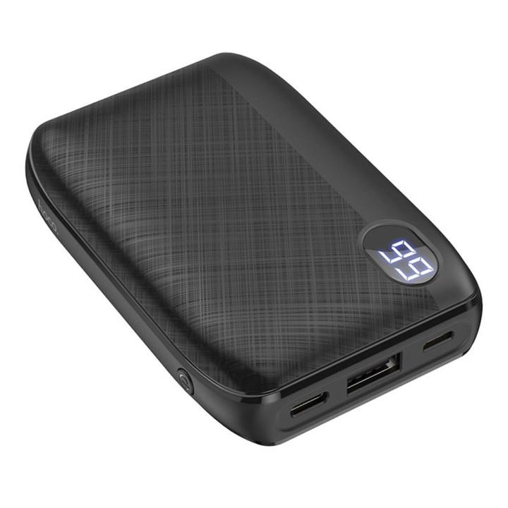 Портативная батарея Power bank Hoco J53 Exceptional 10000mAh, Black