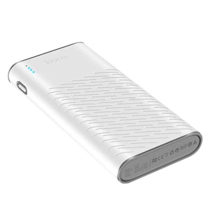 Портативная батарея Power Bank Hoco B31A Rege 30000 mAh White