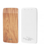 Портативная батарея Power Bank Hoco J5 Wooden 8000 mAh Walnut