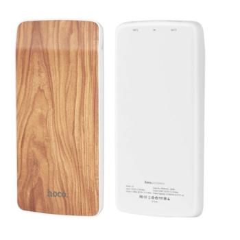 Портативна батарея Power Bank Hoco J5 Wooden 8000 mAh Walnut