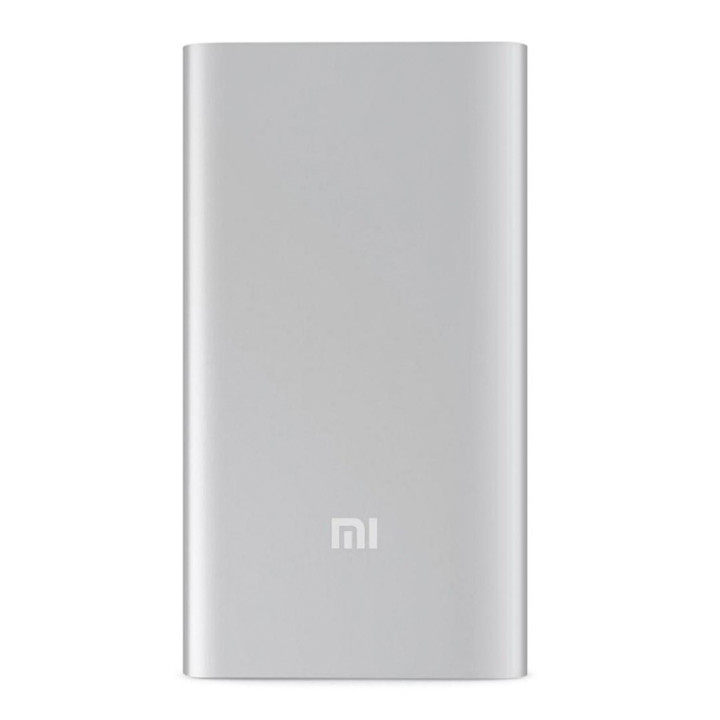 Портативная батарея Power Bank Xiaomi Mi PLM10ZM 5000mAh, Steel