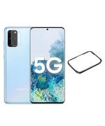 Захисне скло та рамка Tempered Glass 0,3 мм на задню камеру для Samsung Galaxy S20 Plus