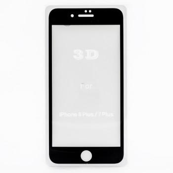 Защитное стекло Mocoll 3D Curve Full Cover Tempered Glass (+ задняя пленка) для Apple iPhone 7 Plus / 8 Plus, Black