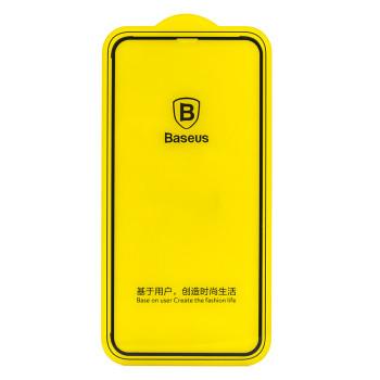 Защитное стекло Baseus 3D Arc-surface для Apple iPhone X / XS, Black