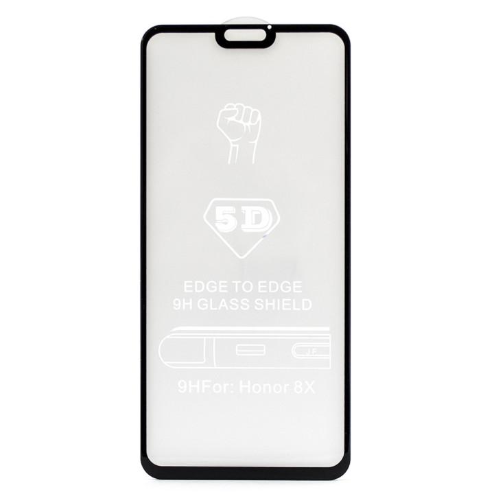 Защитное стекло Full Screen Glue 5D Tempered Glass для Huawei Honor 8x 2018