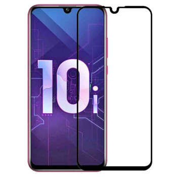 Закаленное защитное стекло Full Screen Tempered Glass для Huawei Honor 10i / P Smart Plus 2019, Black