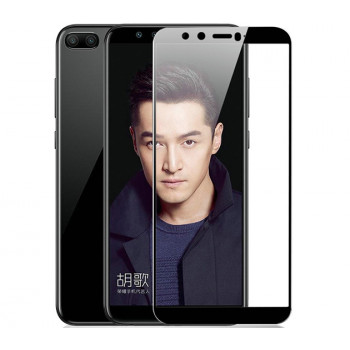 Загартоване захисне скло Full Screen Tempered Glass 0,26мм для Huawei Honor 9 lite